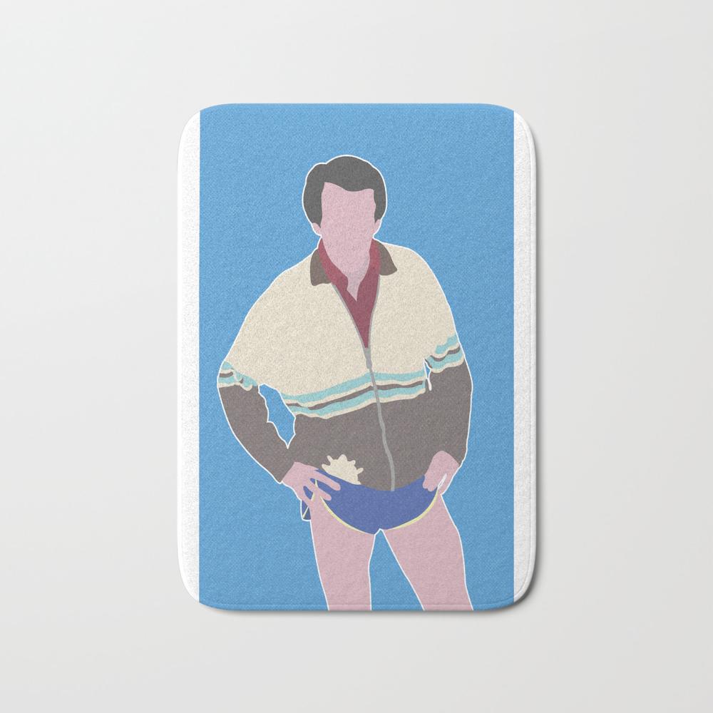Alan Partridge Bath Mat by Barneyrobble BMT8631747