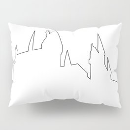 Hogwarts Heartbeat Pillow Sham