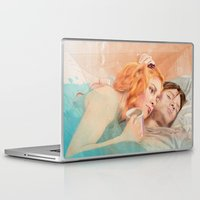 eternal sunshine Laptop & iPad Skins featuring Eternal Sunshine of the Spotless Mind by reviandana