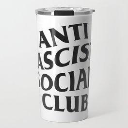 Anti Fascist Social Club Travel Mug
