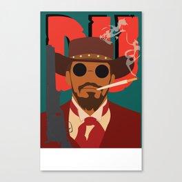 Django Unchained Canvas Print