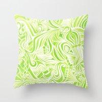 jojo Throw Pillows featuring #50. JOJO by sylvieceres