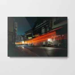 Narita at Night Metal Print