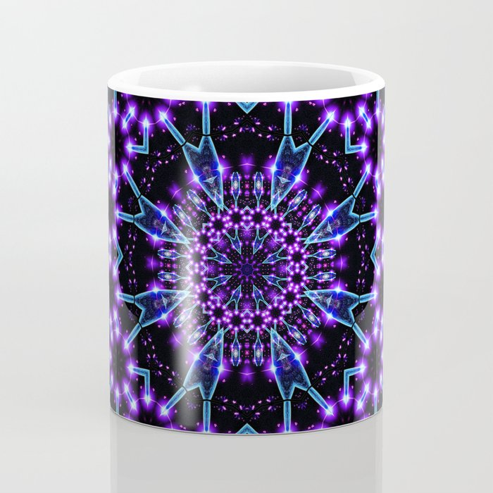Light Structures Mandala Coffee Mug