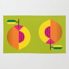 Fruit: Peach Rug