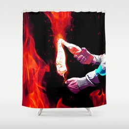 Pleasure to offer, joy to reveive... Shower Curtain