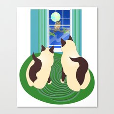 The Owl and The Pussycats 2 Canvas Print