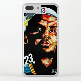 King James Clear iPhone Case