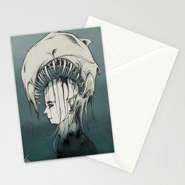 the dark Evil Stationery Cards