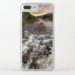 Poolewe at dawn Clear iPhone Case