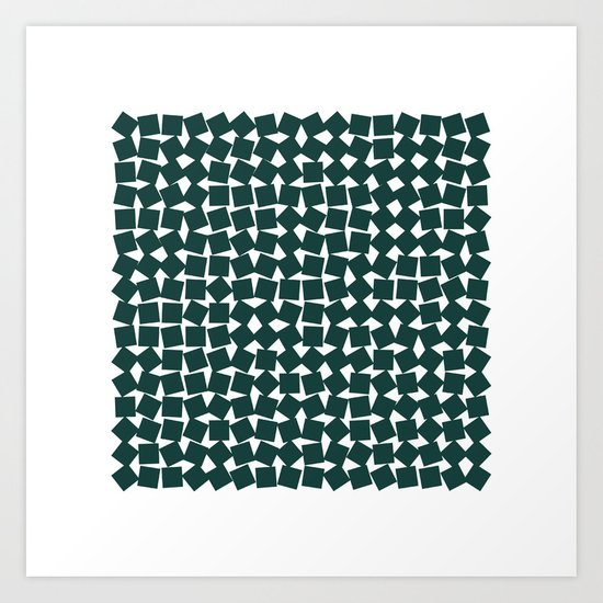 #256 Two-hundred and fifty-six squares – Geometry Daily Art Print