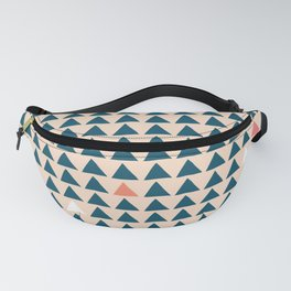 Triangles Fanny Pack