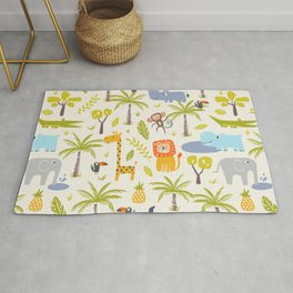 It's A Jungle Out There Rug