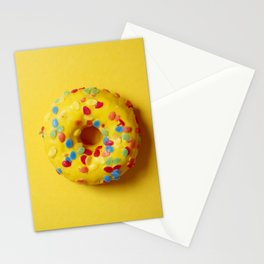 Colorful Donut Stationery Cards