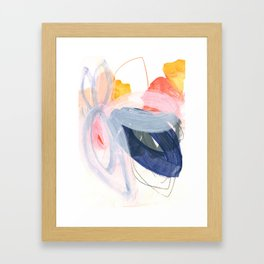 abstract painting XVII Framed Art Print