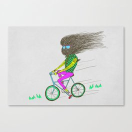 I used to ride professionally Canvas Print