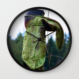 Cowboy Hanger Wall Clock