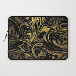 Digital Marble & Gold Laptop Sleeve