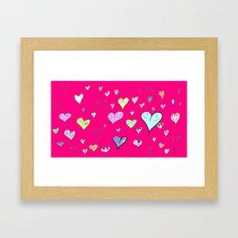 Todo Amor Framed Art Print