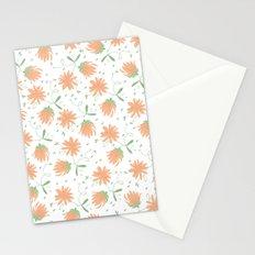 Autumn flora pattern Stationery Cards
