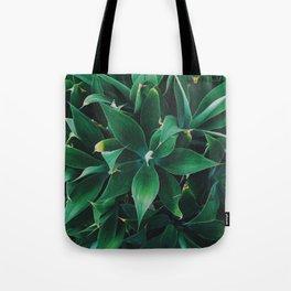 Pattern Plant Tote Bag