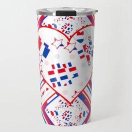Patriotic Love Fest Travel Mug