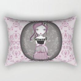 éMo Parfum d'Amertume 'Cadre Baroque' Rectangular Pillow