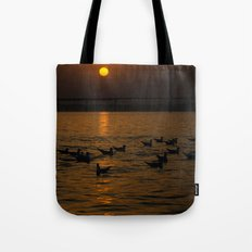 painting a golden picture...  Tote Bag