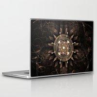 clockwork Laptop & iPad Skins featuring Clockwork by CreativeByDesign