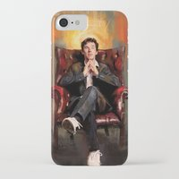 benedict iPhone & iPod Cases featuring Sitting Benedict by Wisesnail