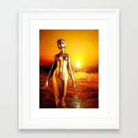 alchemy Framed Art Prints featuring Alchemy by Danielle Tanimura