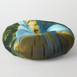 Stone elephant. Floor Pillow