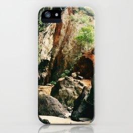 Railay Beach TH - Trail I iPhone Case