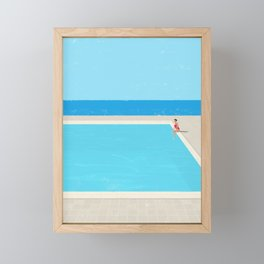 Canicule 5 Framed Mini Art Print