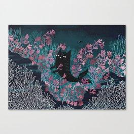 Undersea Canvas Print