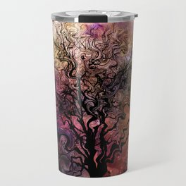 Van Goghs Orion Nebula by Barbara Chichester Travel Mug