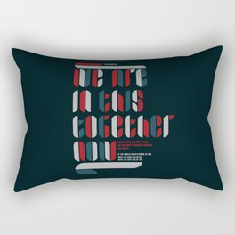 TOGETHER NOW Rectangular Pillow