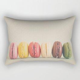 a macaron rainbow ... Rectangular Pillow