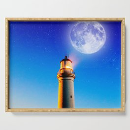 Light House Serving Tray