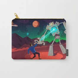 Robot Planet Carry-All Pouch