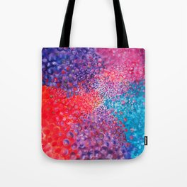 A Field of Energy Tote Bag