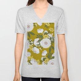 Fleurette Midday Unisex V-Neck