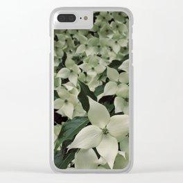 Dogwood 3 Clear iPhone Case