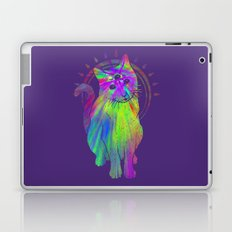 Psychedelic Psychic Cat Laptop & iPad Skin