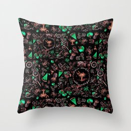 Lowcountry Life Edisto Island Throw Pillow