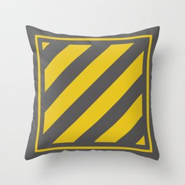 Safety Square Throw Pillow