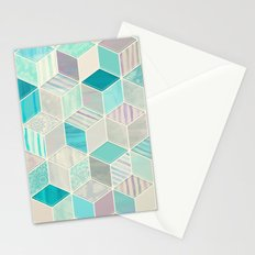 Vacation Patchwork Stationery Cards
