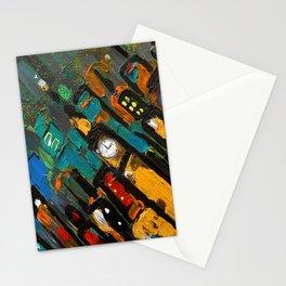 SoapsAndRoses: Diagonal Cityscape Stationery Cards