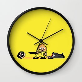 Kill Pixel Bill  Wall Clock
