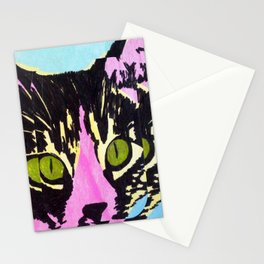 Pop Art Cat No. 1 Stationery Cards